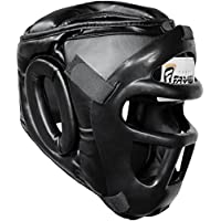 Farabi Head Guard Protector Visage Saver Casque avec Amovible Face Avant Grill