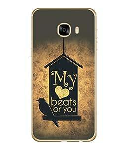 PrintVisa Designer Back Case Cover for Samsung Galaxy C7 SM-C7000 (Dove Jalsa)