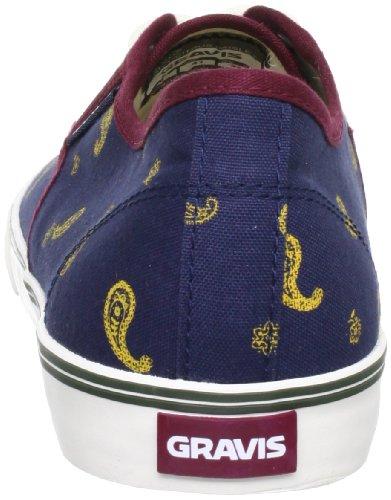 Gravis 2889120019.5, Baskets mode homme Bleu (Navy/Citrus Paisley 423)