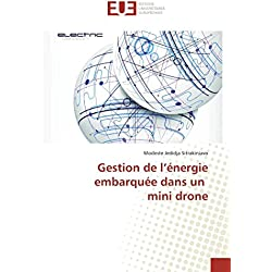 Gestion de l'énergie embarquée dans un mini drone (OMN.UNIV.EUROP.)
