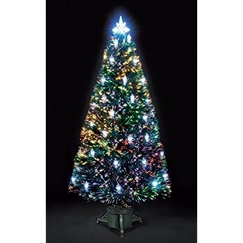 6ft/180cm Colour Changing Lantern Fibre Optic Christmas Tree ...