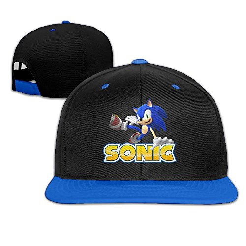 edgehog Unisex Adult Hip-Hop Snapback Hats Royal Blue ()