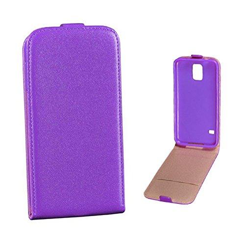 Mobility Gear 12Tassen Slim Flip Case für Sony Xperia Z3Mini, Violett