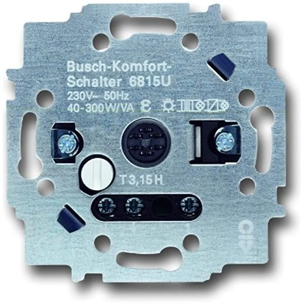 Busch-Jaeger Komfortschalter alpinweiß 6816 UJ-914