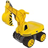 BIG Power Worker Kinderfahrzeug, gelb