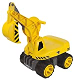 BIG Spielwarenfabrik BIG 800055811 - Power Worker Maxi-Digger, gelb - BIG