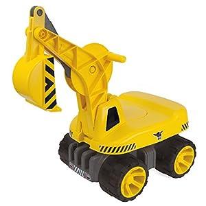 Big 800055811 Giocatolo Escavatore di sabbia, Giallo 4864444108458 LEGO