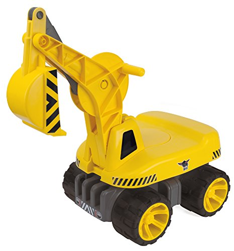 Kinderbagger BIG BIG Spielwarenfabrik BIG 800055811 - Power Worker Maxi-Digger, gelb