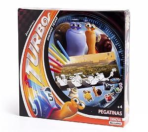 DreamWorks - Turbo, pegatinas (Dinova D0554001)