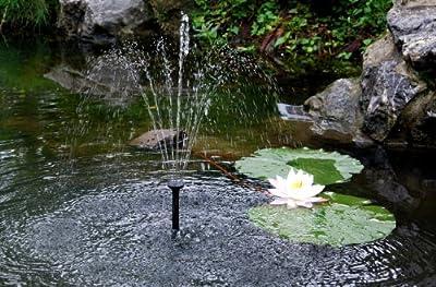 PK Green Springbrunnenpumpe mit niedriger Spannung Netzteil für Wasserspiel von PK Green auf Du und dein Garten