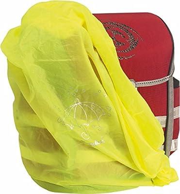 Playshoes - Regenhülle für Rucksack - Neongelb