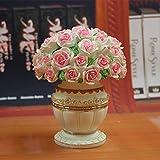 BB.er Frutto forca impostato creative vaso di resina ornamenti europeo moda dessert di frutta in acciaio inossidabile