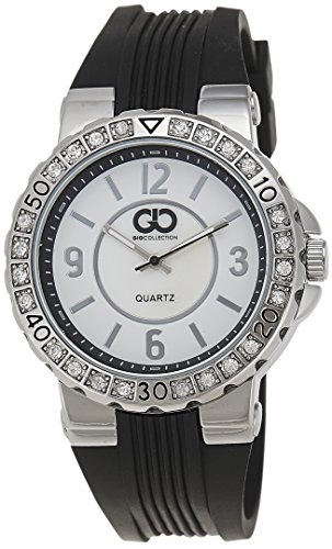 Gio Collection Analog White Dial Women's Watch - GLED-2031A image