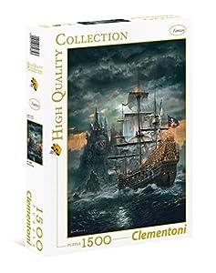 Clementoni - Puzzle 1500 Piezas Barco Pirata (31682)
