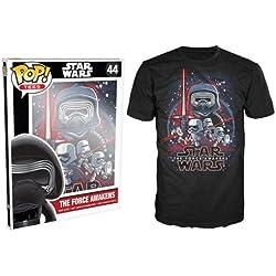 Funko Manga-Pop Tees, Póster de Star Wars de Force Awakens-Camiseta