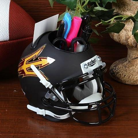 NCAA Arizona State Sun Devils Mini Helmet Desk Caddy by TNT Media- Licensed Sports
