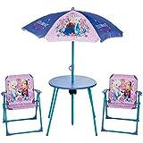 Disney Frozen Niños Set de parasol de patio jardín en interiores y exteriores niños