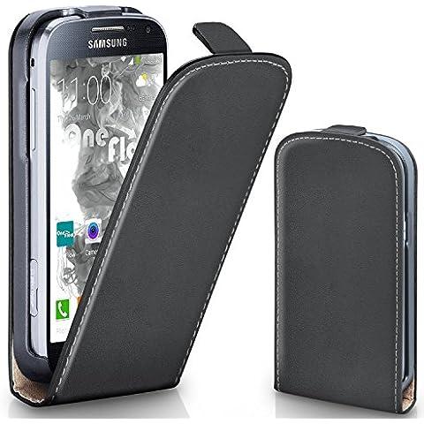 Bolso OneFlow para funda Samsung Galaxy S4 Mini Cubierta con imán | Estuche Flip Case Funda móvil plegable | Bolso móvil protección móvil paragolpes funda protectora con cubierta en