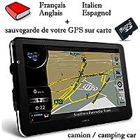 GPS DWCA 7 INCH TRUCK / CAMPING CAR EUROPE 2018 AVISO EN ESPAÑOL