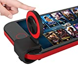 SMARTRICH Mobile Game Joystick Gaming Controller [Upgrade Version] Ergonomisches Design für Android iOS pubg/fortnite/Messer Out/Rules of Survival