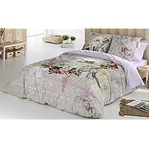 COTTON ART - funda Nordica Modelo ANETTE cama de 150 / 160 (240x260cm) + 2 FUNDAS DE ALMOHADA (45X80cm) ALGODÓN 100% Disponible para cama de 90 105 135 150 y 180.