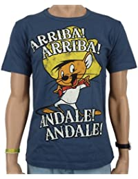 Logoshirt - Looney Tunes Arriba! Andale! T-Shirt, stone blue