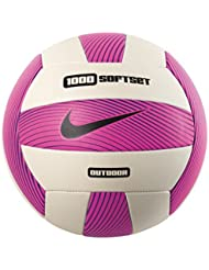 Nike Nike Eq 1000 Softset Outdoor Volleyball deflated Hyper Pink/WHIT