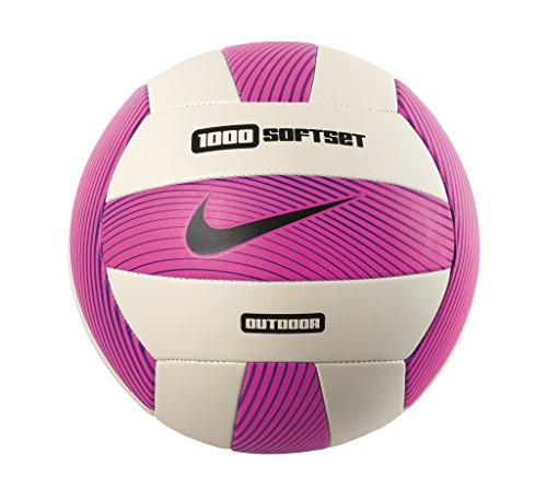 Nike Erwachsene 1000 Softset Volleyball, pink/White/Hyper Grape/Black, OSFM