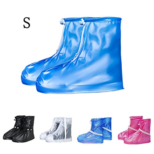 Tpocean Shoes Cover, Reusable Waterproof Shoes Cover Anti-slip Rain Snow Boots Overshoes Protector for Unisex Adults