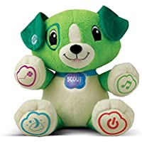 LeapFrog 80-19156E My Puppy Pal Scout (Green) Educational Toy with Learning Personalisation, Songs and Lullabies, Suitable from 6 Months