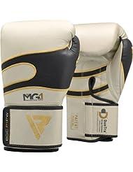 RDX Guantes de Boxeo Kick Boxing Muay Thai Sparring Saco Entrenamiento Adulto Cuero Combate Boxing Gloves
