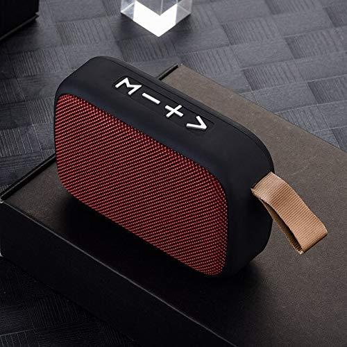 ZGMMM Haut-Parleur stéréo sans Fil portatif de Carte d'écart-Type FM de Bluetooth pour Le...