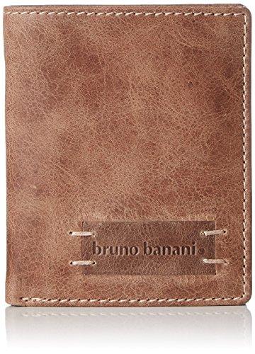 Bruno Banani VISTA_1_1 W 320.1424_Unisex-Erwachsene Geldbörsen 9x10x2 cm (B x H x T) Braun (cognac_braun)