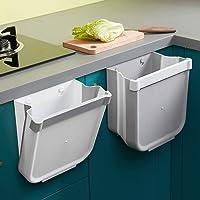 Poubelle Cuisine Pliable Porte Kitchen Poubelle Murale Cuisine Can pour Voiture Bureau à Domicile