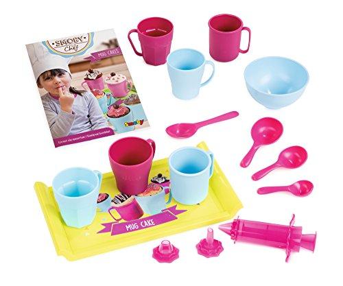Smoby - 312101 - Mug Cakes - Accessoires Cuisine et Recettes Inclus