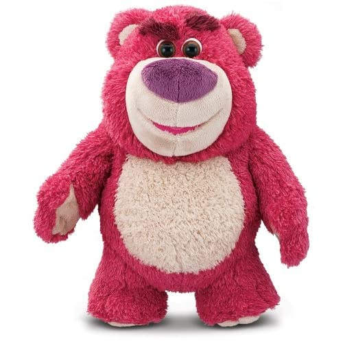 "Disney Toy Story 64054 Lotso Hugging Bear Toy, Multi, 13"" 4"