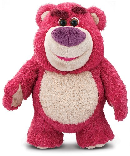 Disney Toy Story 64054 Lotso Hugging Bear Toy, Multi, 13'