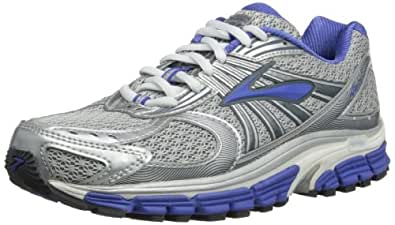 Brooks Ariel 12 Women Running Shoes, Silver/Ombre Dazzling
