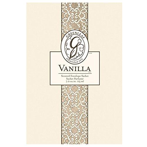 Greenleaf gl900517groß Sachet Vanille (Potpourri Duft-Öl)