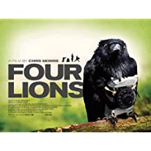 Four Lions 30 x 40 Movie Poster UK - Style A