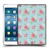 Head Case Designs Englische Blumen Rosenmuster Ruckseite Hülle für iPad Air (2013)