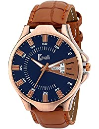 Cavalli Analog Blue Dial Men's Watch