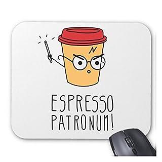 Harry Potter inspiriert Espresso Patronum Individuelle Computer Dekoration Rechteck Maus Pad