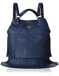 Lino Perros Women's Handbag (Blue) - B0794W2Z46