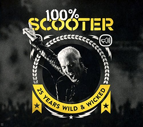 100{3dc9b827ac5d8ced0613ab9d0447967d1bb00d08d18866d7180cc01ea525a7f7} Scooter-25 Years Wild&Wicked(Ltd.5cd-Digipak)