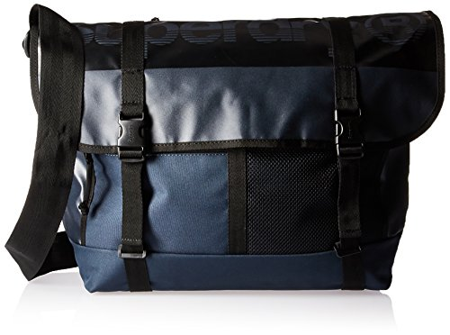Superdry Herren M Tarp Messenger Bag Rucksack, Navy, Einheitsgröße