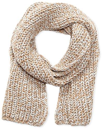 s.Oliver Damen Schal 39.510.91.8392, Einfarbig, Gr. One size, Mehrfarbig (brown knit 84X1)
