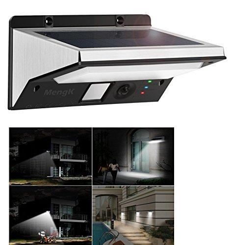 Lampe Solaire Exterieur 21led Etanche Mengk Detecteur De Mouvement