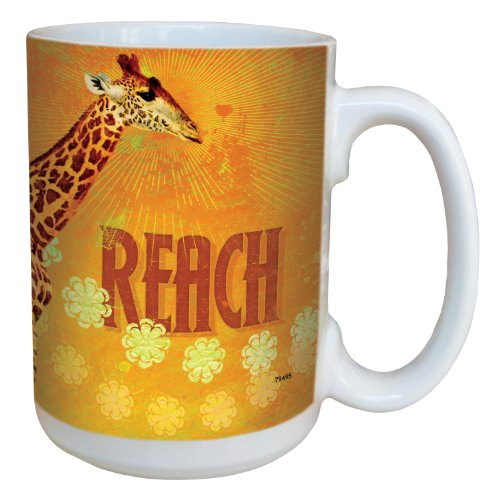 Tree-Free mit 7949515ml mit Einer Giraffe Art Keramikbecher in voller Größe.