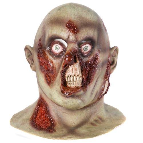 Accessoryo - Beängstigendes Halloween Deluxe Fäulnis Zombie (Beängstigende Maske Latex)